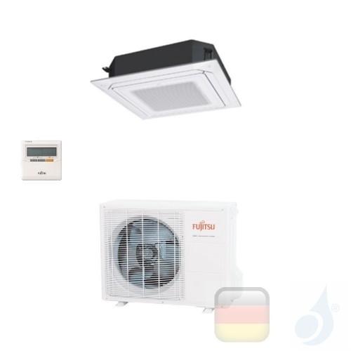 Fujitsu Gewerbeklimaanlagen Kassettengerät Serie LR Circular Flow Weiß 18000 Btu AUXG18LRLB AOYG18LBCA 3NGF8850 R-410A 220v A...