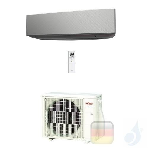 Fujitsu Klimaanlagen Mono Split Wand KE 12000 Btu 3.5 kW Silbernen WiFi Optional ASYG12KETA-B AOYG12KETA A++ A+ 3NGF87130 R-3...