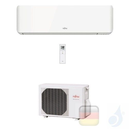 Fujitsu Klimaanlagen Mono Split Wand KM 7000 Btu 2.0 kW Weiß WiFi Optional ASYG07KMTA AOYG07KMTA A++ A+ 3NGF87010 R-32 ASYG07...