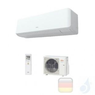 Fujitsu Klimaanlagen Mono Split Wand KM Large 24000 Btu 7.1 kW Weiß WiFi Optional ASYG24KMTA AOYG24KMTA A++ A+ 3NGF7085 R-32 ...