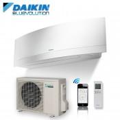 Klimageräte Mono Split Daikin R32 12000 BTU FTXJ35MW+RXJ35M weiß 3,5 KW serie Emura FTXJ-MW mit WiFi inverter Wärmepumpe