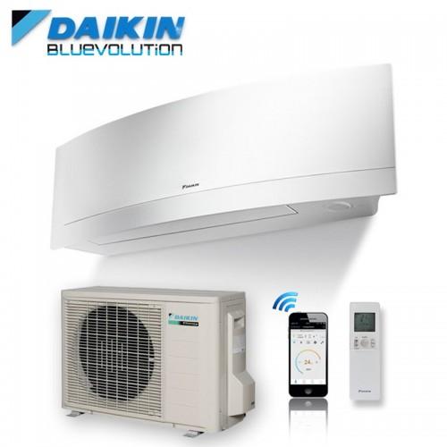 Klimageräte Mono Split Daikin R32 18000 BTU FTXJ50MW+RXJ50M weiß 5 KW serie Emura FTXJ-MW mit WiFi inverter Wärmepumpe