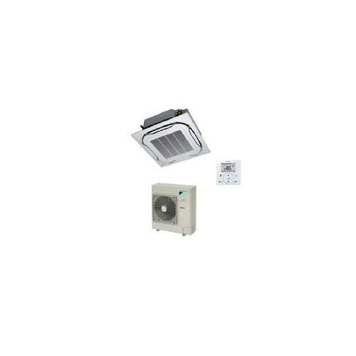 Daikin Gewerbeklimaanlagen 12000 BTU Kassettengerät FCQG35F+RXS35L 3.5 KW inverter Wärmepumpen FCQG35F+RXS35L