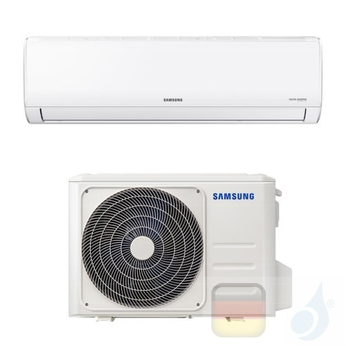 Samsung Klimaanlagen Mono Split Wand Gas R-32 AR35 SET F-AR18ART 18000 Btu 5.0 kW WiFi A++ A AR18TXHQASINEU+AR18TXHQASIXEU