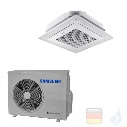 Samsung Klimaanlagen Mono Split Kassettengerät Gas R-32 4 Luftauslässe Mini WindFree 18000 Btu 5.2 kW WiFi Optional A++ A+ AC...