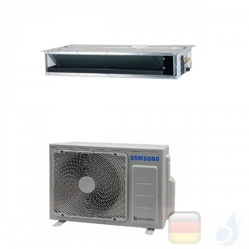 Samsung Klimaanlagen Mono Split Kanaleinbaugeräte Geringe Prävalenz 9000 Btu 2.6 kW WiFi Optional A++ A+ Gas R-32 AC026RNLDKG...