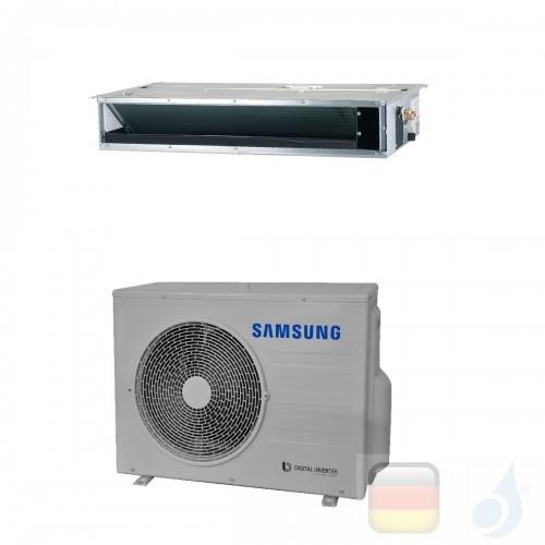 Samsung Klimaanlagen Mono Split Kanaleinbaugeräte Geringe Prävalenz 18000 Btu 5.2 kW WiFi Optional A++ A Gas R-32 AC052RNLDKG...