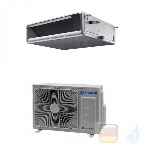 Samsung Gewerbeklimaanlagen Mono Split Kanaleinbaugeräte Mittlere Prävalenz 12000 Btu Einzelphase 3.5 kW A++ A+ Gas R-32 220v...