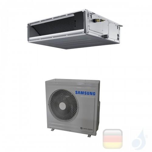 Samsung Gewerbeklimaanlagen Mono Split Kanaleinbaugeräte Mittlere Prävalenz 24000 Btu Einzelphase 7.1 kW A++ A+ Gas R-32 220v...