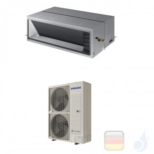 Samsung Gewerbeklimaanlagen Mono Split Kanaleinbaugeräte Hohe Prävalenz 61200 Btu Drei Phasen 18.0 kW  Gas R-410A 380v AC180J...