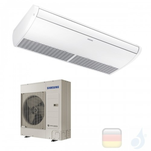 Samsung Gewerbeklimaanlagen Mono Split Decken-Klimaanlagen 34000 Btu Einzelphase 10.0 kW WiFi Optional A++ A+ Gas R-32 220v A...