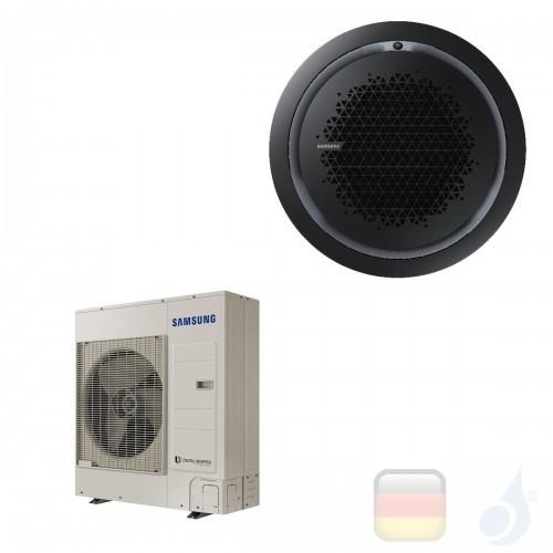 Samsung Gewerbeklimaanlagen Mono Split Kassette 360 Runde Platte Schwarz Gas R-32 34000 Btu Einzelphase 10.0 kW A++ A+ 220v A...