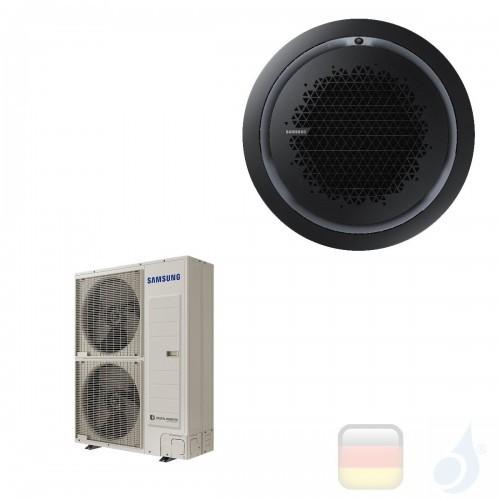 Samsung Gewerbeklimaanlagen Mono Split Kassette 360 Runde Platte Schwarz Gas R-32 47600 Btu Drei Phasen 14.0 kW  380v AC140RN...