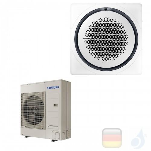 Samsung Gewerbeklimaanlagen Mono Split Kassette 360 Quadratische Platte Weiß Gas R-32 34000 Btu Einzelphase 10.0 kW A++ A+ 22...