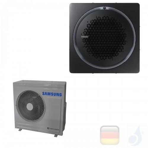 Samsung Gewerbeklimaanlagen Mono Split Kassette 360 Quadratische Platte Schwarz R-32 24000 Btu Einzelphase 7.1 kW A++ A+ 220v...