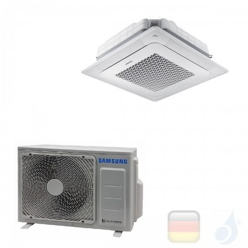 Samsung Gewerbeklimaanlagen Mono Split Kassettengerät 4 Luftauslässe Mini WindFree 12000 Btu Einzelphase 3.5 kW R-410A 220v A...