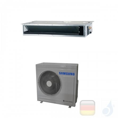 Samsung Gewerbeklimaanlagen Mono Split Kanaleinbaugeräte Geringe Prävalenz 24000 Btu Einzelphase 7.1 kW R-410A 220v AC071MNLD...