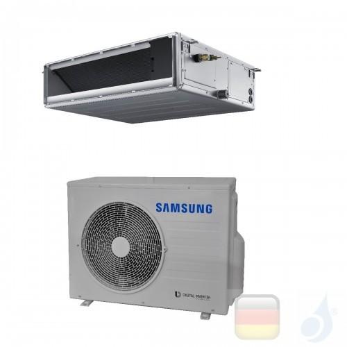 Samsung Gewerbeklimaanlagen Mono Split Kanaleinbaugeräte Mittlere Prävalenz 21000 Btu Einzelphase 6.0 kW R-410A 220v AC060MNM...