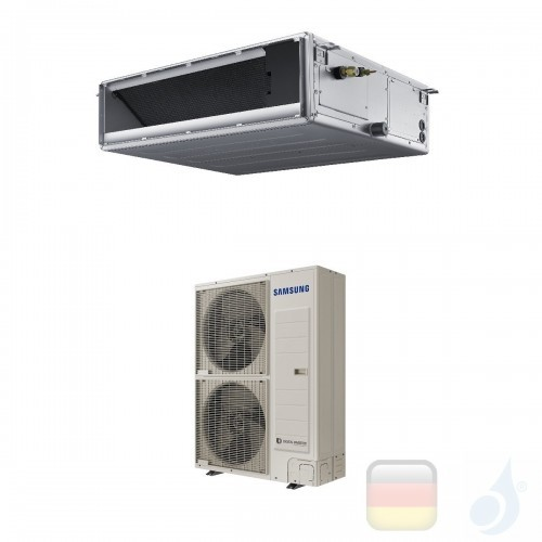 Samsung Gewerbeklimaanlagen Mono Split Kanaleinbaugeräte Mittlere Prävalenz 47600 Btu Einzelphase 14.0 kW R-410A 220v AC140MN...