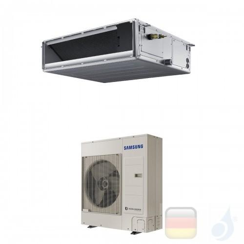 Samsung Gewerbeklimaanlagen Mono Split Kanaleinbaugeräte Mittlere Prävalenz 34000 Btu Drei Phasen 10.0 kW R-410A 380v AC100MN...