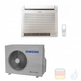 Samsung Klimaanlagen Mono Split Fußboden Console 18000 Btu Einzelphase 5.2 kW WiFi Optional A+ A Gas R-410A 220v AC052MNJDKH/...