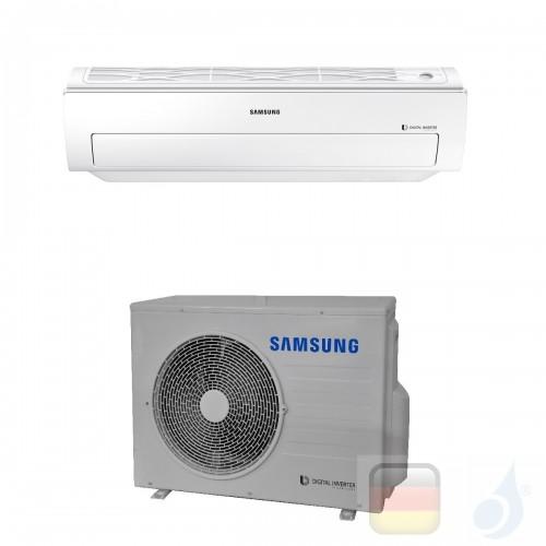 Samsung Gewerbeklimaanlagen Mono Split Wand Einzelphase Gas R-410A 18000 Btu 5.2 kW WiFi Optional 220v A++ A AC052MNADKH/EU+A...