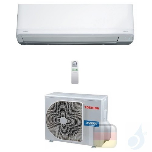Toshiba Klimaanlagen Mono Split Wand Daiseikai Light 21000 Btu R-32 WiFi Optional RAS-B22J2KVRG-E RAS-22J2AVRG-E A++ A+ 6.1 k...