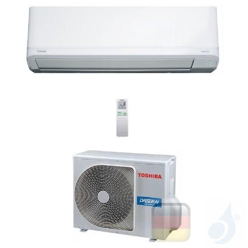 Toshiba Klimaanlagen Mono Split Wand Daiseikai Light 24000 Btu R-32 WiFi Optional RAS-B24J2KVRG-E RAS-24J2AVRG-E A++ A+ 7.1 k...