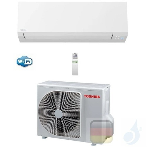 Toshiba Klimaanlagen Mono Split Wand Serie Shorai Edge 9000 Btu R-32 WiFi RAS-B10N4KVSG-E RAS-10J2AVSG-E A+++ A+++ 2.5 kW RAS...