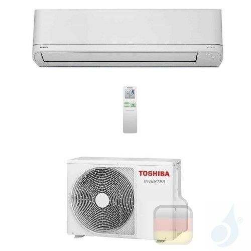 Toshiba Klimaanlagen Mono Split Wand Serie Shorai 12000 Btu R-32 WiFi Optional RAS-B13PKVSG-E RAS-13PAVSG-E A++ A+ 3.5 kW RAS...