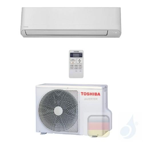 Toshiba Klimaanlagen Mono Split Wand Serie Seiya 18000 Btu R-32 WiFi Optional RAS-18J2KVG-E RAS-18J2AVG-E A++ A+ 5.0 kW RAS-1...