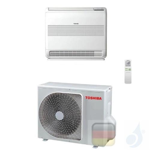 Toshiba Klimaanlagen Mono Split Fußboden Serie Console 12000 Btu R-32 WiFi Optional RAS-B13J2FVG-E RAS-13J2AVSG-E A++ A++ 3.5...