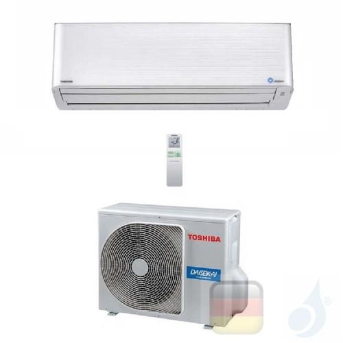 Toshiba Klimaanlagen Mono Split Wand Super Daiseikai 9 9000 Btu R-32 WiFi Optional RAS-10PKVPG-E RAS-10PAVPG-E A+++ A+++ 2.5 ...