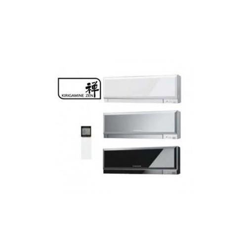 Inneneinheit Klimageräte Mitsubishi 7000 BTU Serie Kirigamine Zen R32 2 KW MSZ-EF22VG weiss silber schwarz inverter Wärmepumpen