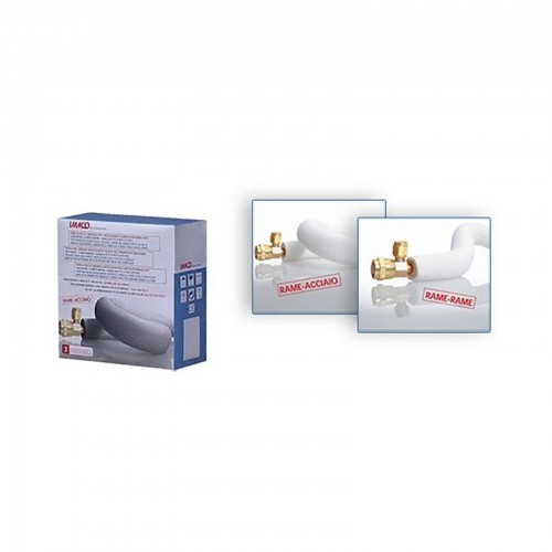 """Komplettes Montageset für eine Klimaanlageninstallation 3 mt 1/4""""+1/2"""" Catalogo Prodotti"""