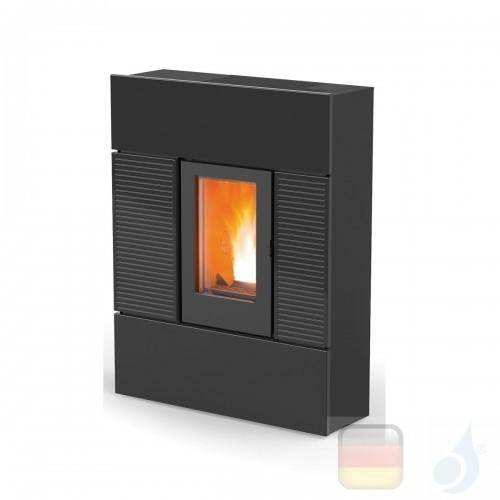 MCZ Pelletöfen serie Ray Comfort Air 8 M1 7.8 kW keramik Schwarz 7118004 Maestro-Fernbedienung mit Raumthermostat A+ MCZ-7118...