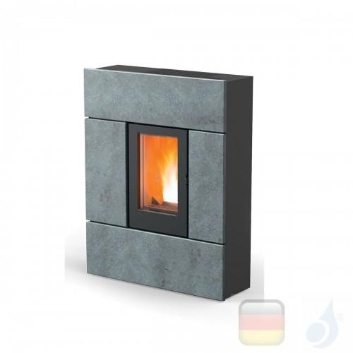 MCZ Pelletöfen serie Ray Comfort Air 8 M1 7.8 kW keramik Stein 7118004 Maestro-Fernbedienung mit Raumthermostat A+ MCZ-711800...