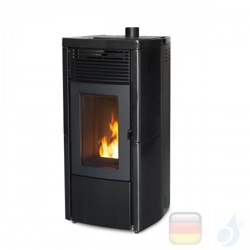 MCZ Pelletöfen serie Star Air 8 UP! M1 8.1 kW keramik Schwarz 7119004 Maestro-Fernbedienung mit Raumthermostat A+ MCZ-7119004...
