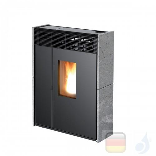 MCZ Pelletöfen serie Linea Comfort Air 9 UP! M1 8.8 kW keramik Stein 7118014 Maestro-Fernbedienung mit Raumthermostat A+ MCZ-...