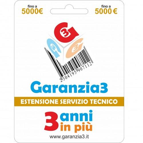 GARANTIE 3 Erweiterung des Technischen Service Bis zu 5000 Euro GRPDDE5000