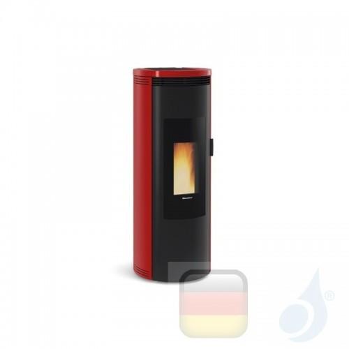 Nordica Extraflame Pelletöfen Amika 8.0 kW keramik Bordeaux 1283500 A+ Nord-Extra-1283500
