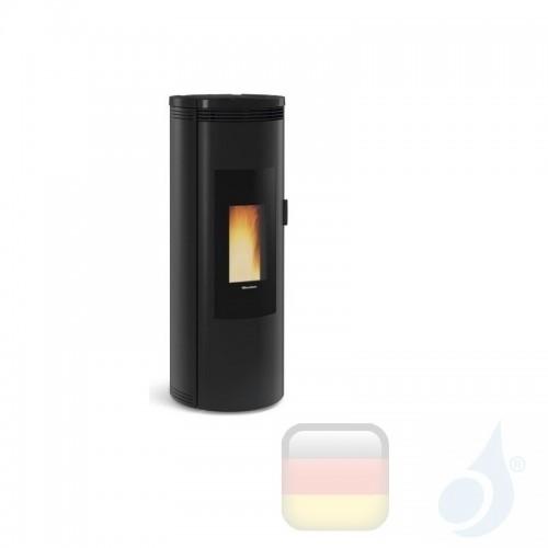 Nordica Extraflame Pelletöfen Amika 8.0 kW keramik Schwarz 1283502 A+ Nord-Extra-1283502