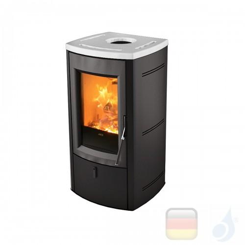 MCZ Holzöfen serie Nogal 7.0 kW keramik Weiß 7111205 A+ MCZ-7111205-6911017