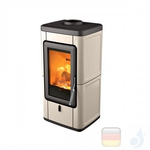 MCZ Holzöfen serie Veld 7.0 kW keramik Warmes Grau 7111203 A+ MCZ-7111203-6911010