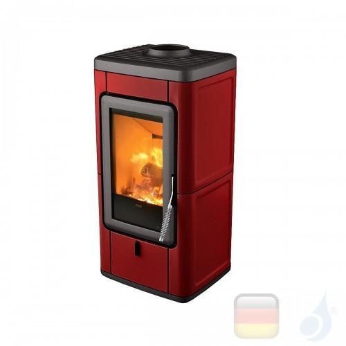 MCZ Holzöfen serie Veld 7.0 kW keramik Bordeaux 7111203 A+ MCZ-7111203-6911011