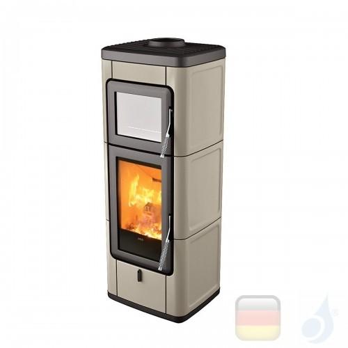 MCZ Holzöfen serie Sava 7.0 kW keramik Warmes Grau 7111204 A+ MCZ-7111204-6911014