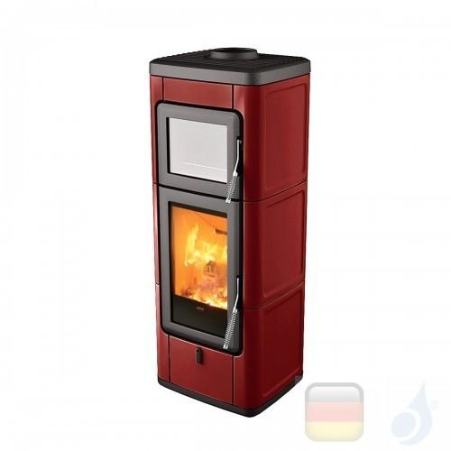 MCZ Holzöfen serie Sava 7.0 kW keramik Bordeaux 7111204 A+ MCZ-7111204-6911015