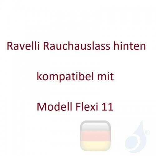 Ravelli Rauchauslass hinten kompatibel mit Modell Flexi 11 Artikelnummer 09B00013N Ravelli-09B00013N
