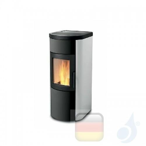 Ravelli Pelletofen Whisper 7 6.6 kW Beschichtungstyp metal Weiß A++ Belüftet Natürliche Konvektion Ravelli-10004CR01-BCO