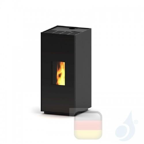Ravelli Pelletofen Square 7 6.6 kW WiFi Beschichtungstyp metal Schwarz A++ Ravelli-80015CR01-BLK